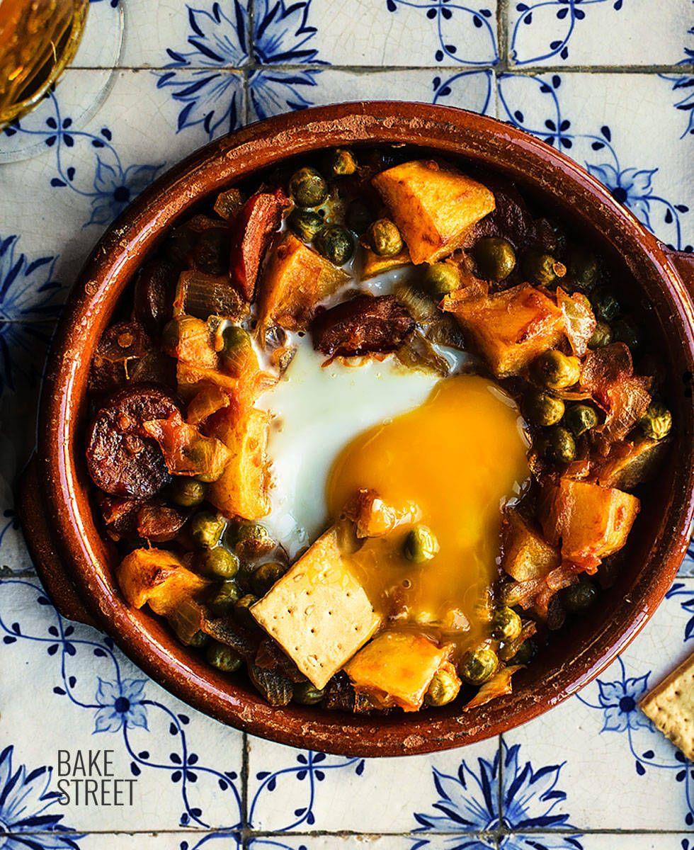 Huevos A La Flamenca Recetas De Cocina Comida Salsa De Tomate Hecha En Casa