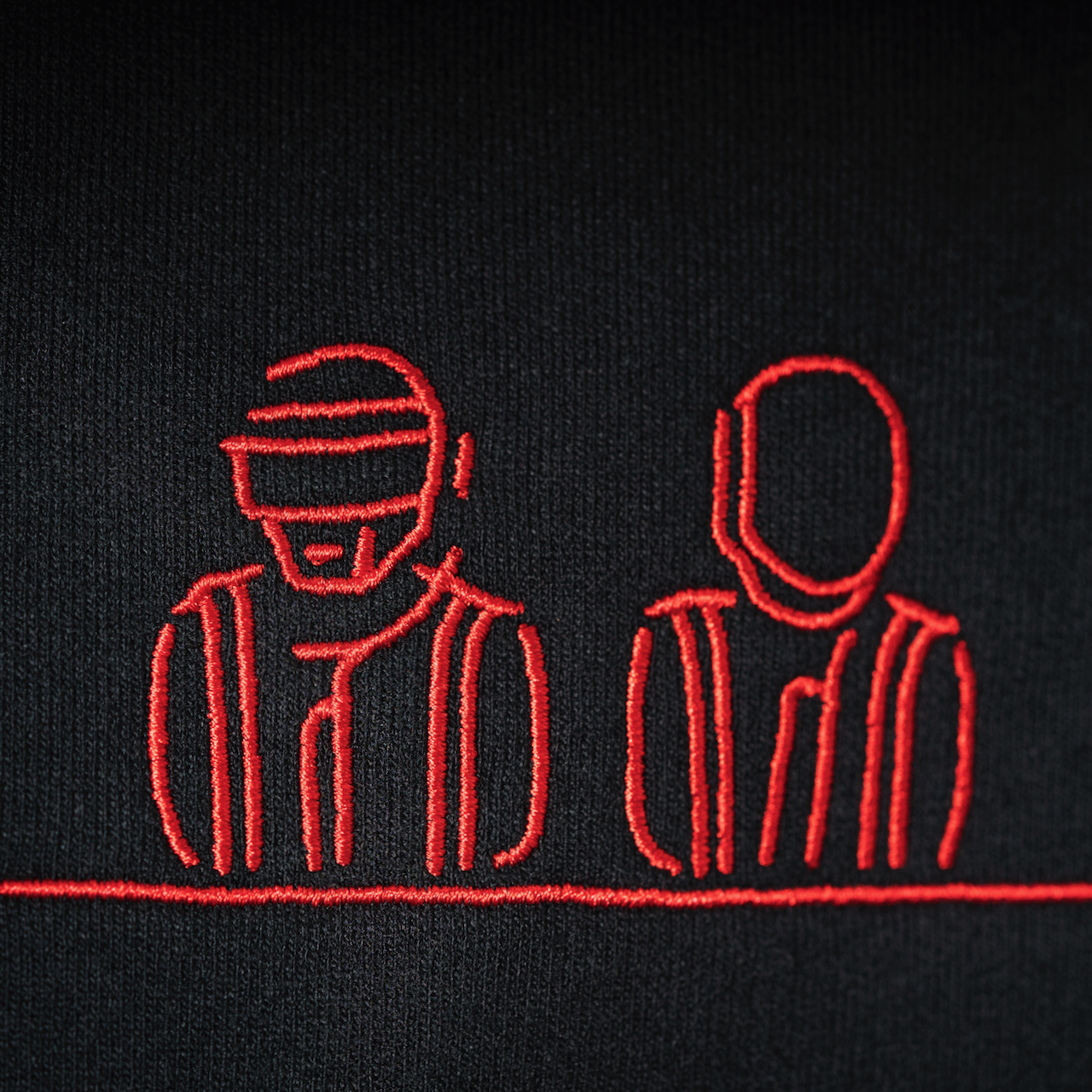 Daft Punk Electronic Dance Music Logo Robot Embroidered Iron on Sew Patch 2Pcs