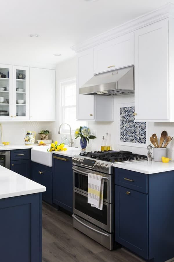 Best Color Trends For Kitchens 2019 Blue Kitchen Decor 400 x 300