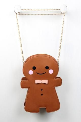 Ginger Bread Man Cookie Bag - Gioellia Boutique - 1