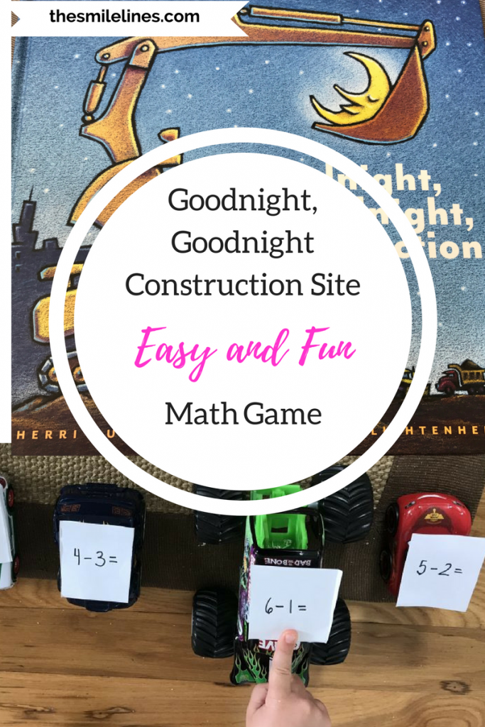 Goodnight, Goodnight Construction Site Math Game | Fun math games ...