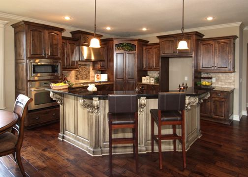 semi circle island kitchen i the island friends of mine one like this with 5130