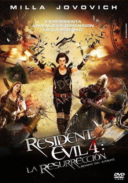 Ver Resident Evil 4 Ultratumba Resurreccion 2010 Online Descargar Hd Gratis Espanol Latino Subtitulada Resident Evil Evil Poster