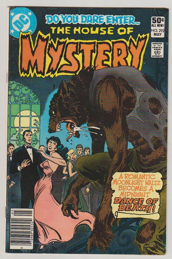 Casa del misterio; Vol 1, 292, libro de historietas de la edad del bronce. VF-. De mayo de 1981. Tebeos de la C.C.   cubierta de Joe Kurbert