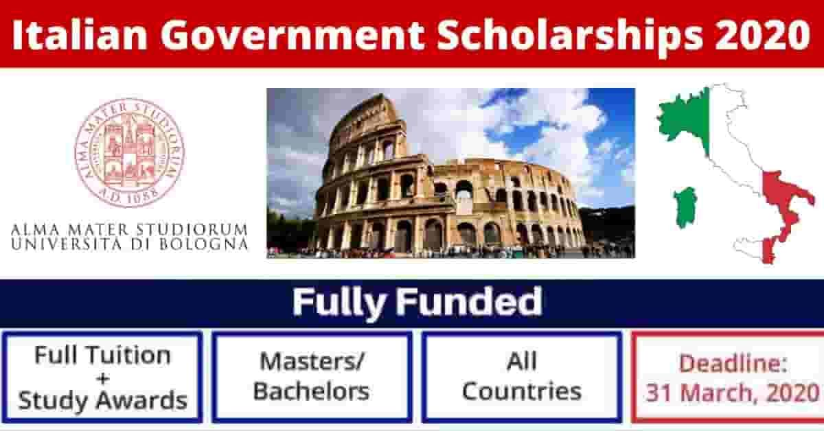 Italian Government Scholarships For Foreign Students 2020 ...