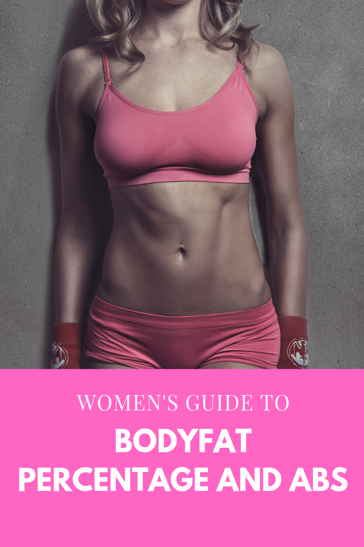 What Bodyfat Percentage for Abs? (Female): How women can get toned