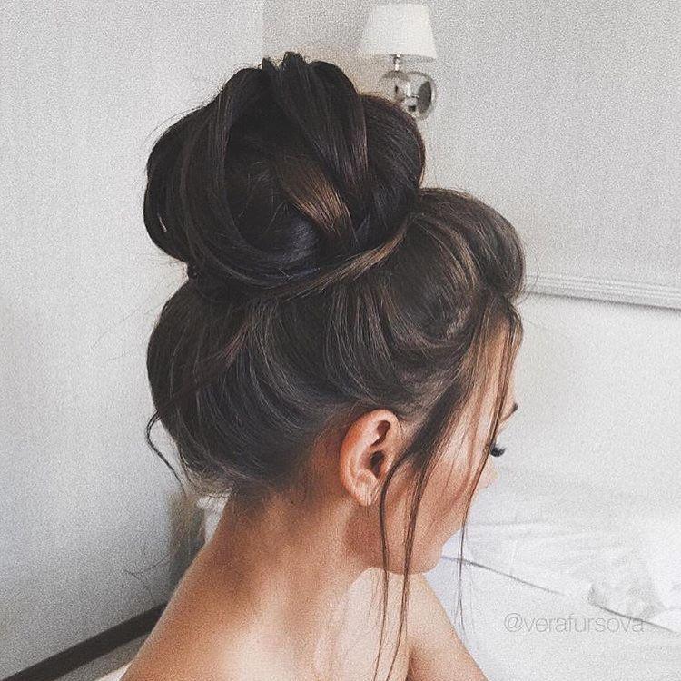 Ideas de peinado simplemente Pretty Bun que inspiran