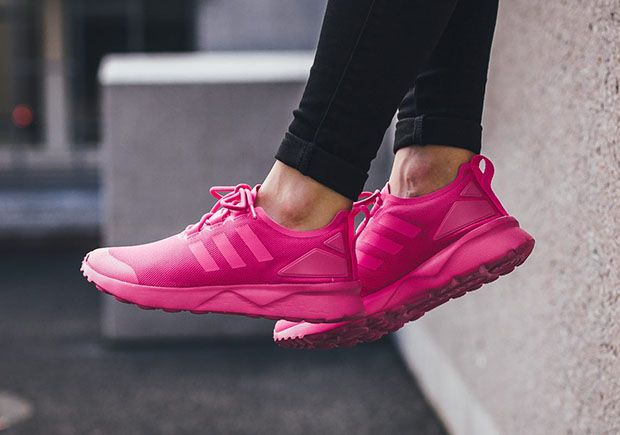 """sports shoes 7ce18 618b7  sneakers  news adidas ZX Flux ADV Verve """"Shock Pink"""""""