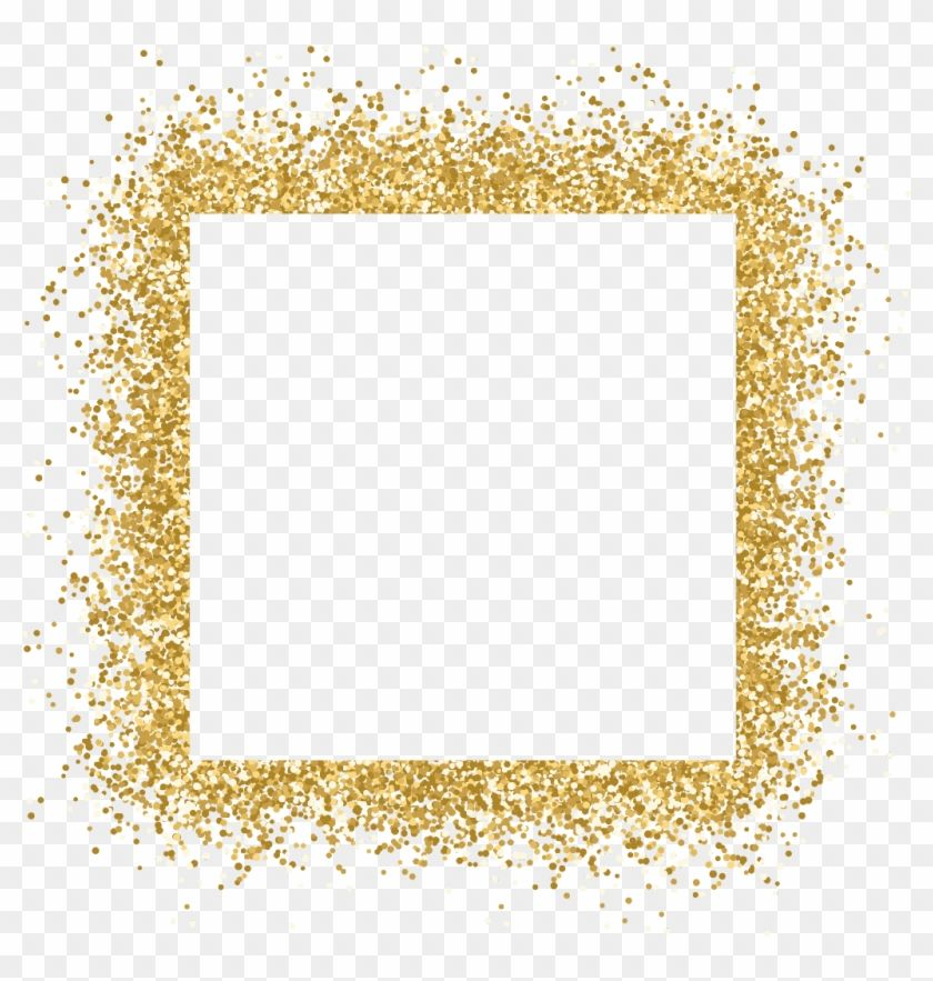 Find Hd Gold Frame Glitter Ftestickers Gold Glitter Border Png Transparent Png To Search And Download More Free Transp Glitter Frame Gold Glitter Frame