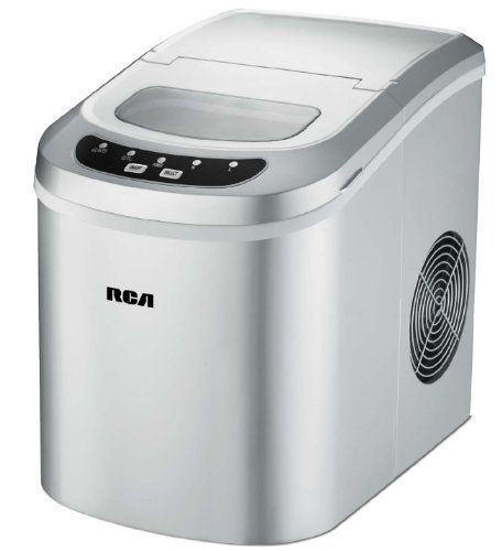 Rca Ric102 Silver Compact Ice Maker Review Portable Ice Maker