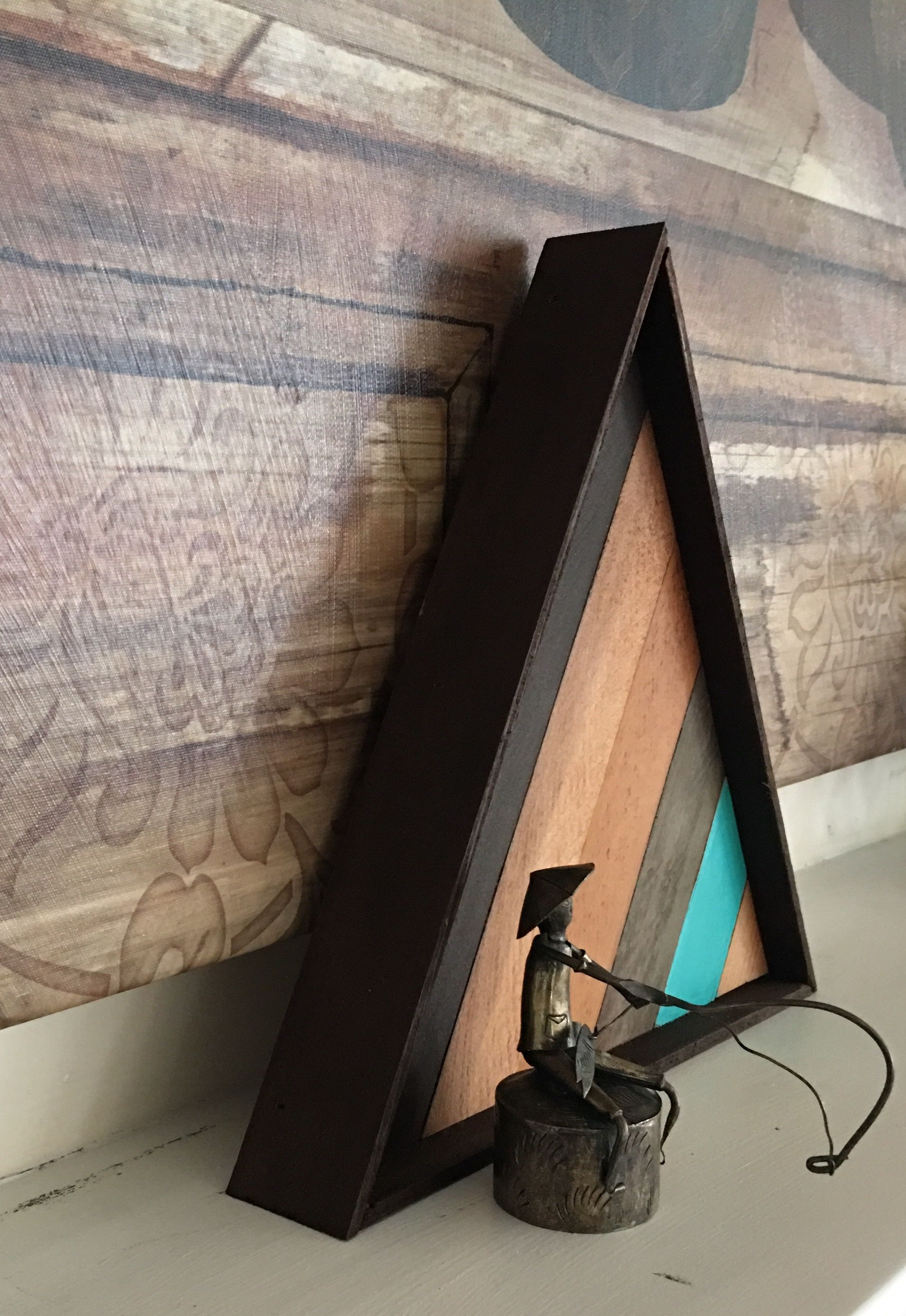 Another side view of triangle woodworking pinterest triangles