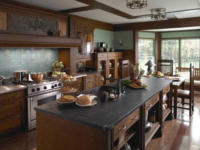 25 stylish craftsman kitchen design ideas | soapstone countertops