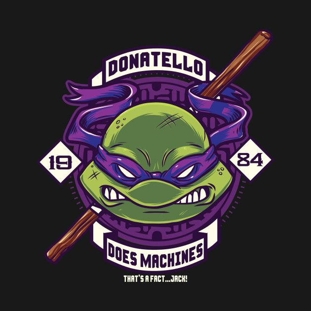 Donatello does machines