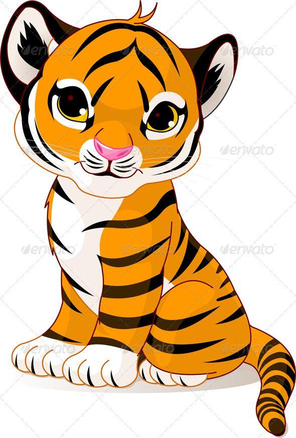 9b4040603 A bit too cutesy, but good stance idea | patch work | Cute tiger cubs, Cute  tigers, Tiger cub