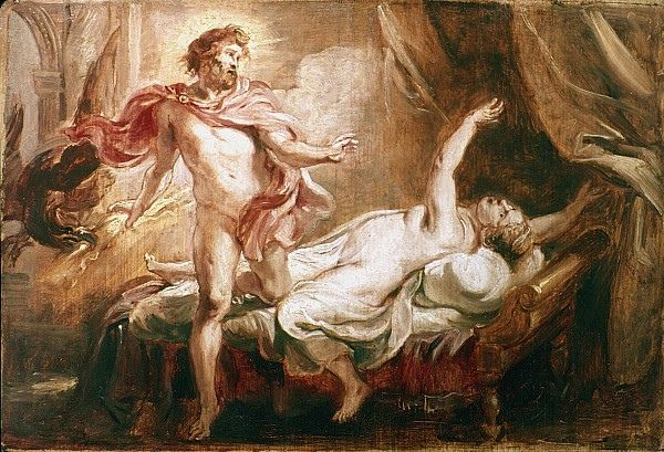 Zeus and Semele | Peter paul rubens, Rubens paintings, Rubens