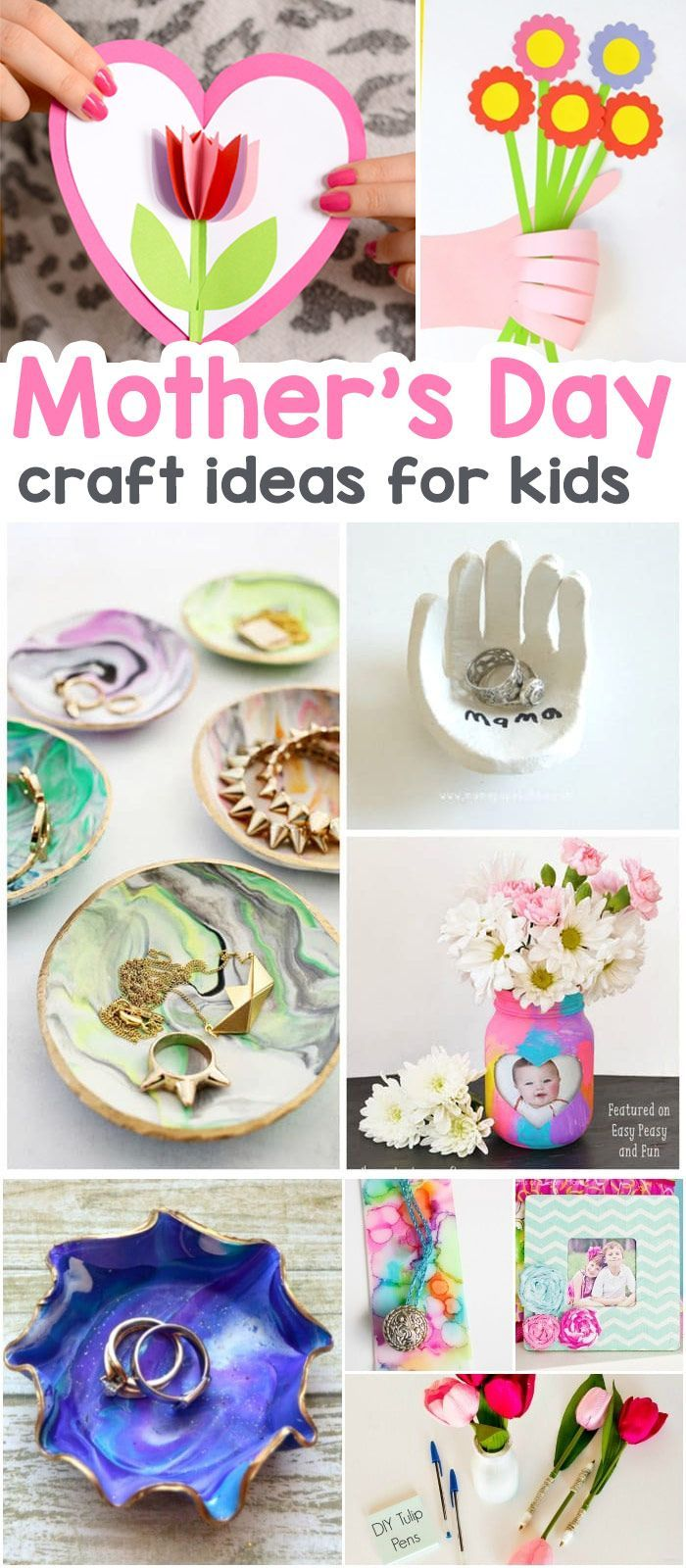 25 mothers day crafts for kids most wonderful cards keepsakes and more mothers fathers. Black Bedroom Furniture Sets. Home Design Ideas