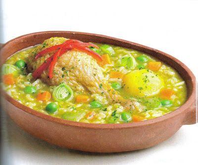 Receta De Aguadito De Pollo Comida Peruana Comida Peruana