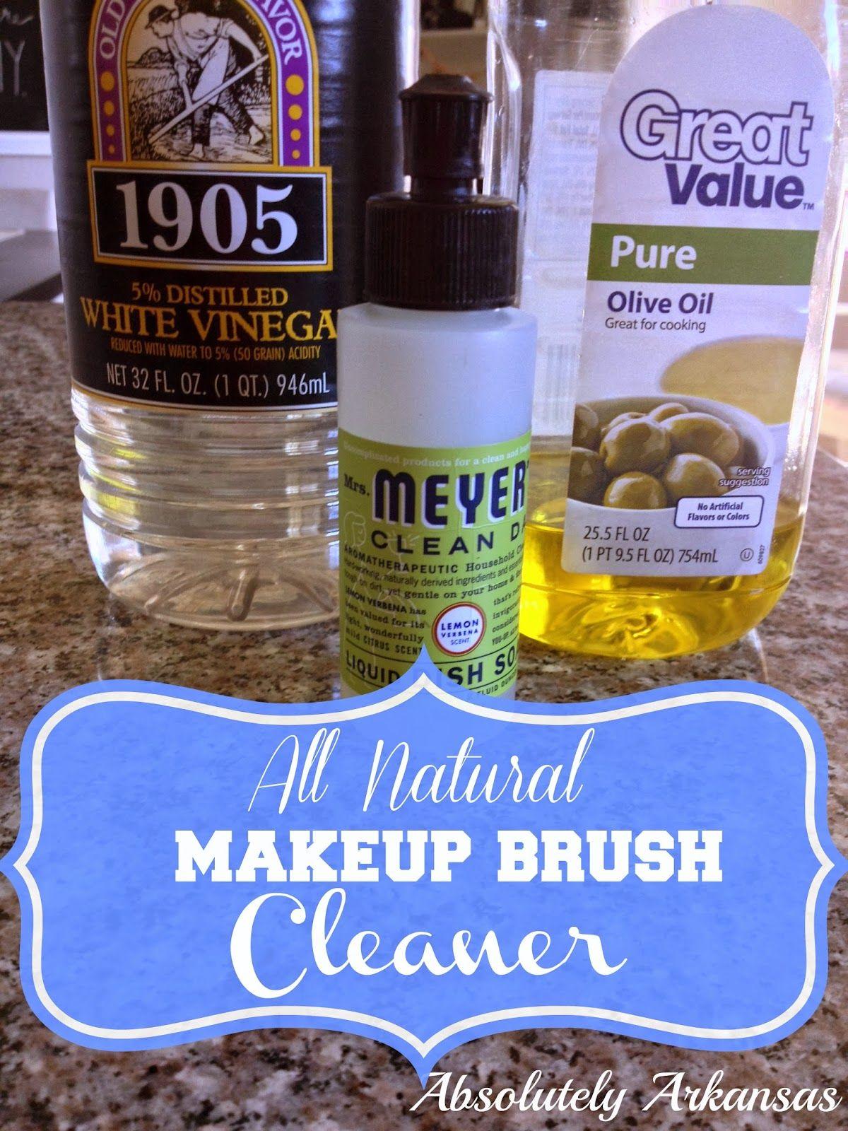 Worlds best & easiest Makeup Brush Cleaner Diy makeup