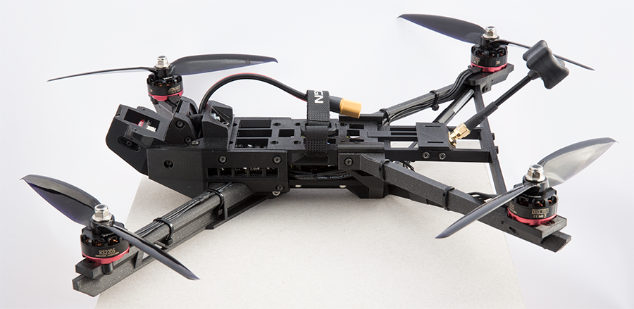 Antoftdesign 7 Inch Long Range Drone Drone Drone Frame Quadcopter