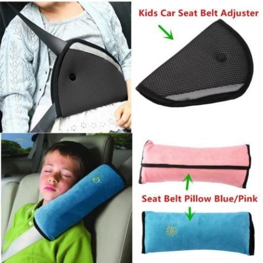 Baby Children Car Safety Seat Belt Pillow Strap Soft Shoulder Pad ...