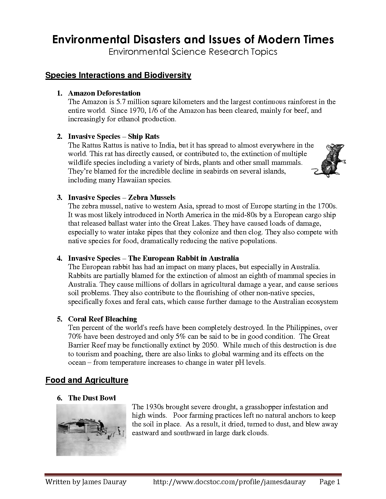 environment related research topics
