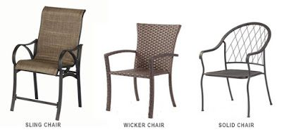 Types Of Patio Furniture Outdoor Dining Chairs Outdoordining