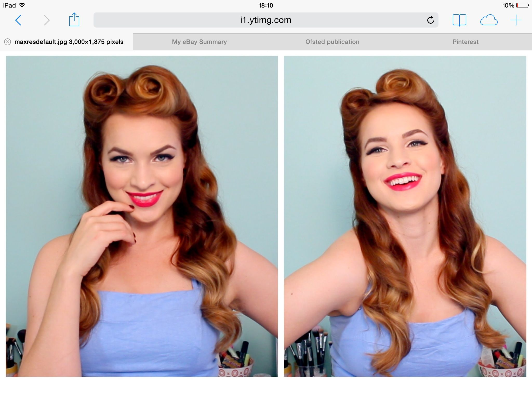 50 s hairstyle for long hair Beauty