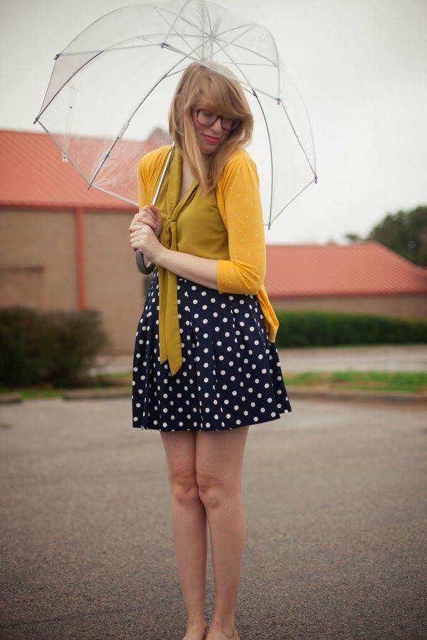 feminine polka dots for spring via writes like a girl