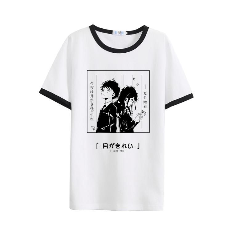 Japanese anime couple love tshirt sd00780 with images