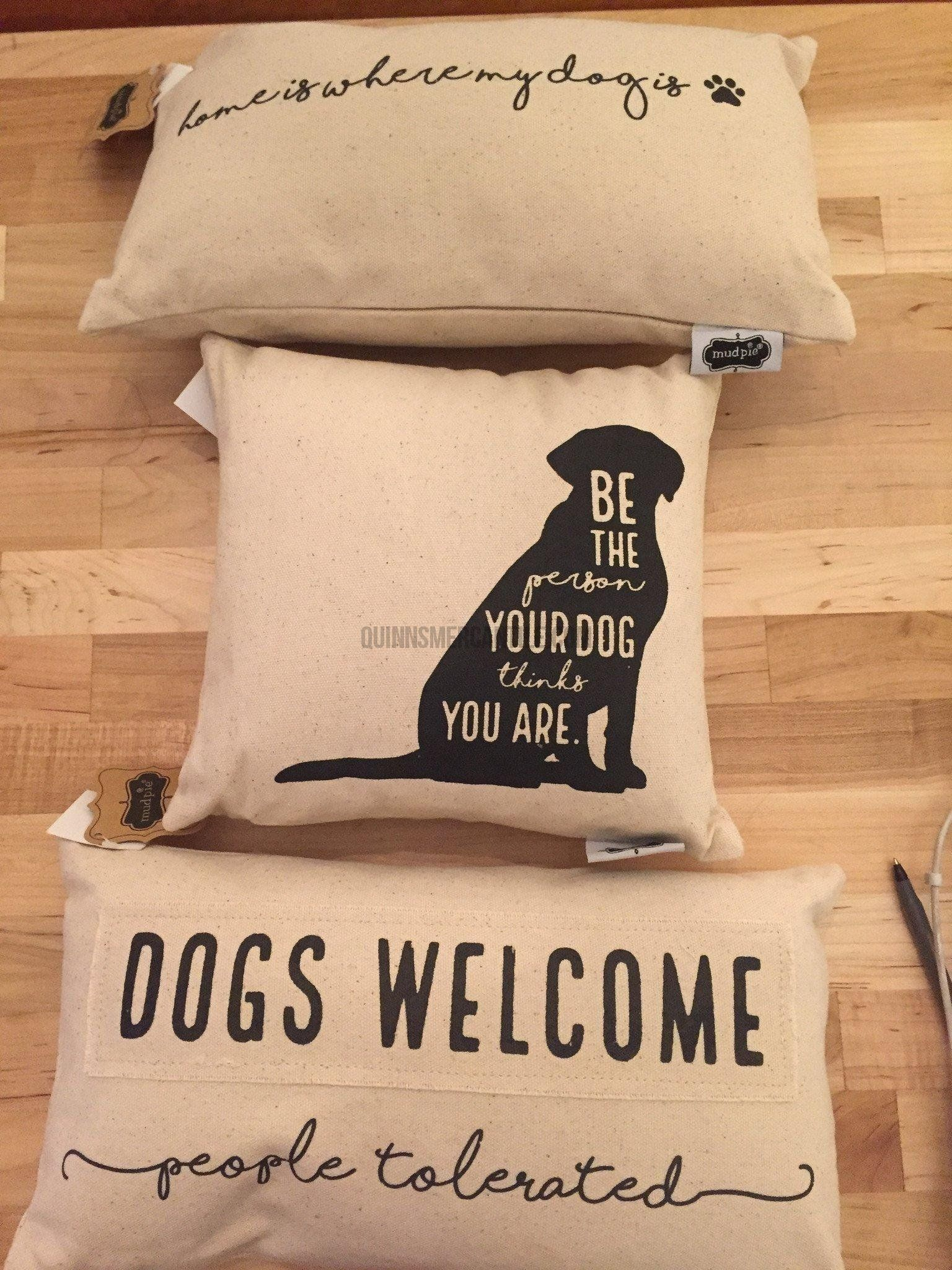 Dog Pillow Quinn S Mercantile Dog Room Decor Dog Pillow