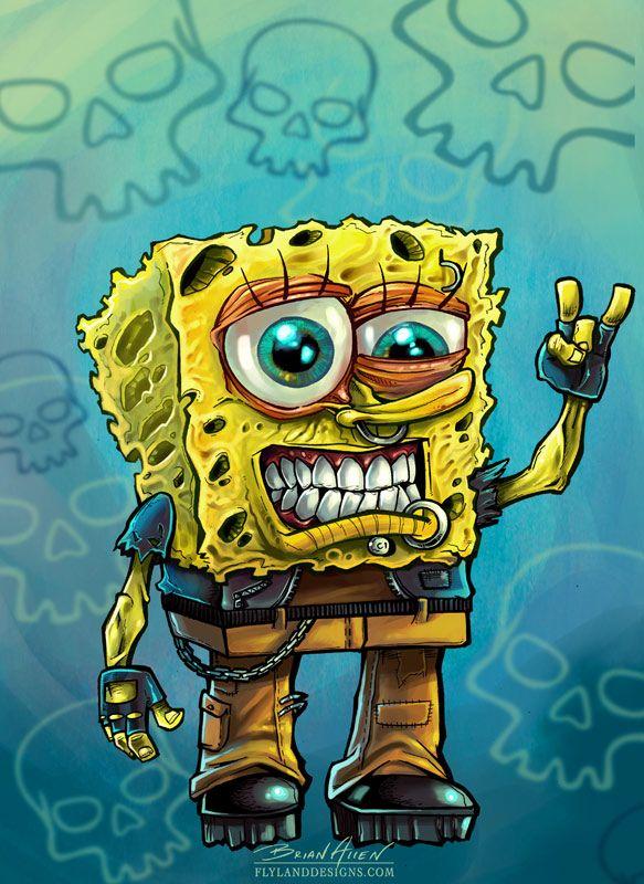 2021 Gambar Spongebob Sedih 3D Tahun Ini