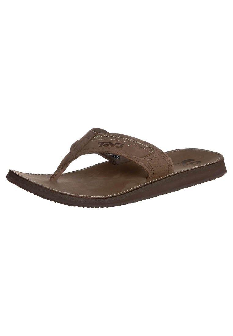 Pin en Moda playa para hombre :: Sandalias de dedo (Zalando)