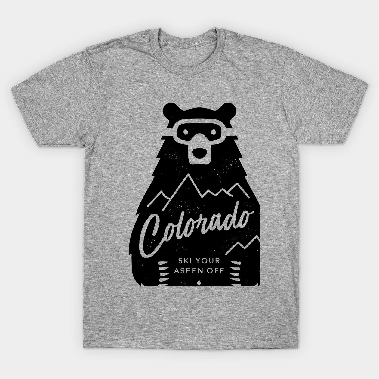Colorado Ski Bear funny Classic TShirt T shirt, Funny