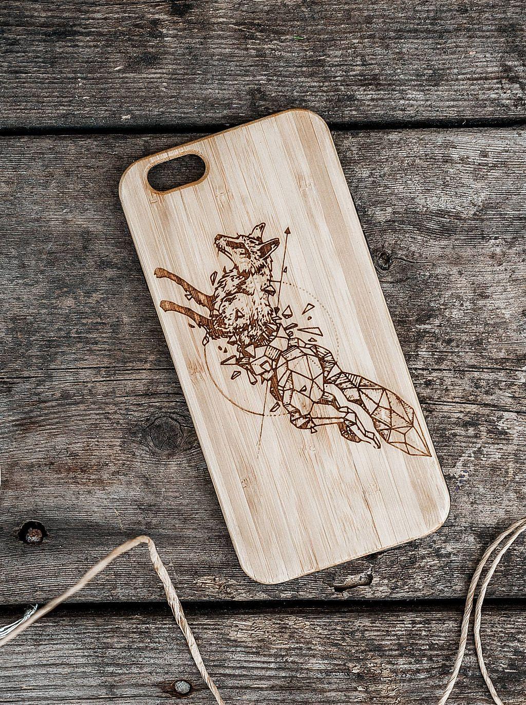 Accessori X Phon.Wood Iphone Case Fox Phone Case Unique Phone Case Iphone 8