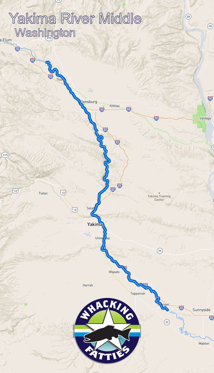 Yakima River Middle Fishing Report Yakima River Fishing Report Yakima