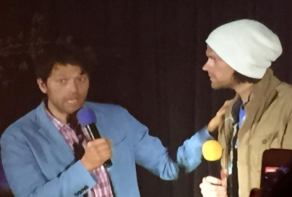 Both of Jared's sons were born in Seattle if he didn't live in Austin they'd live here! #SeaCon #GiveMePie360