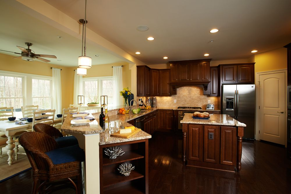 The Chapel Hill Kitchen With Images Luxury House Designs Home