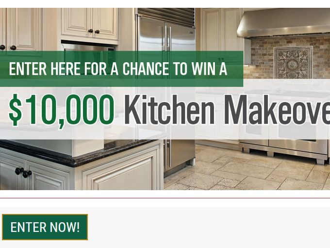 Enter The Rosina Kitchen Makeover Sweepstakes For Your Chance To Win  $10,000 Towards A Kitchen Makeover
