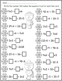 Balancing Equations / FREE Printable Worksheets – Worksheetfun