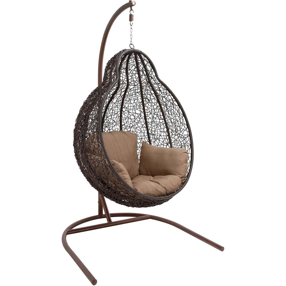 Merveilleux Wicker Pod Swing Chair   Wayfair