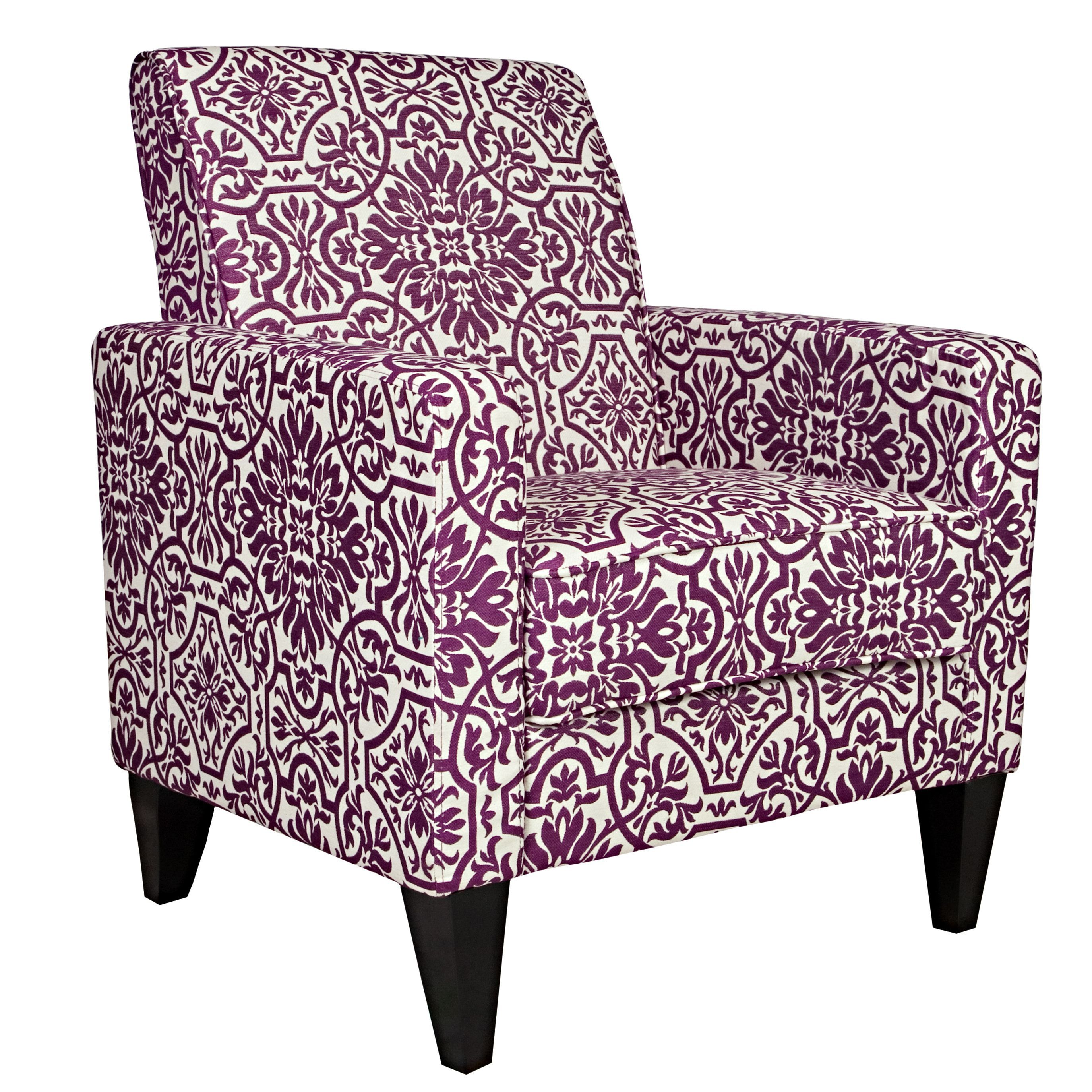 Belmont Purple Arm Chair Overstock Shopping The