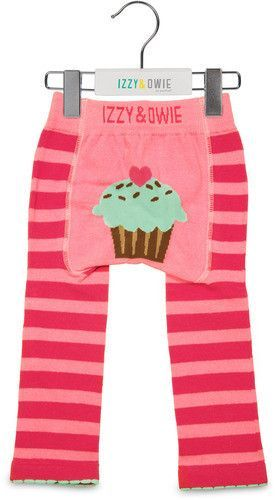 Pink Cupcake Girls Leggings by Izzy & Owie - Giggles Gear