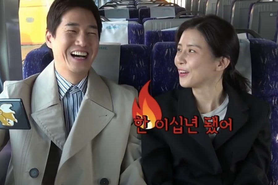 """Watch: Lee Bo Young And Yoo Ji Tae React To Viewers' Comments While Filming """"When My Love Blooms"""""""