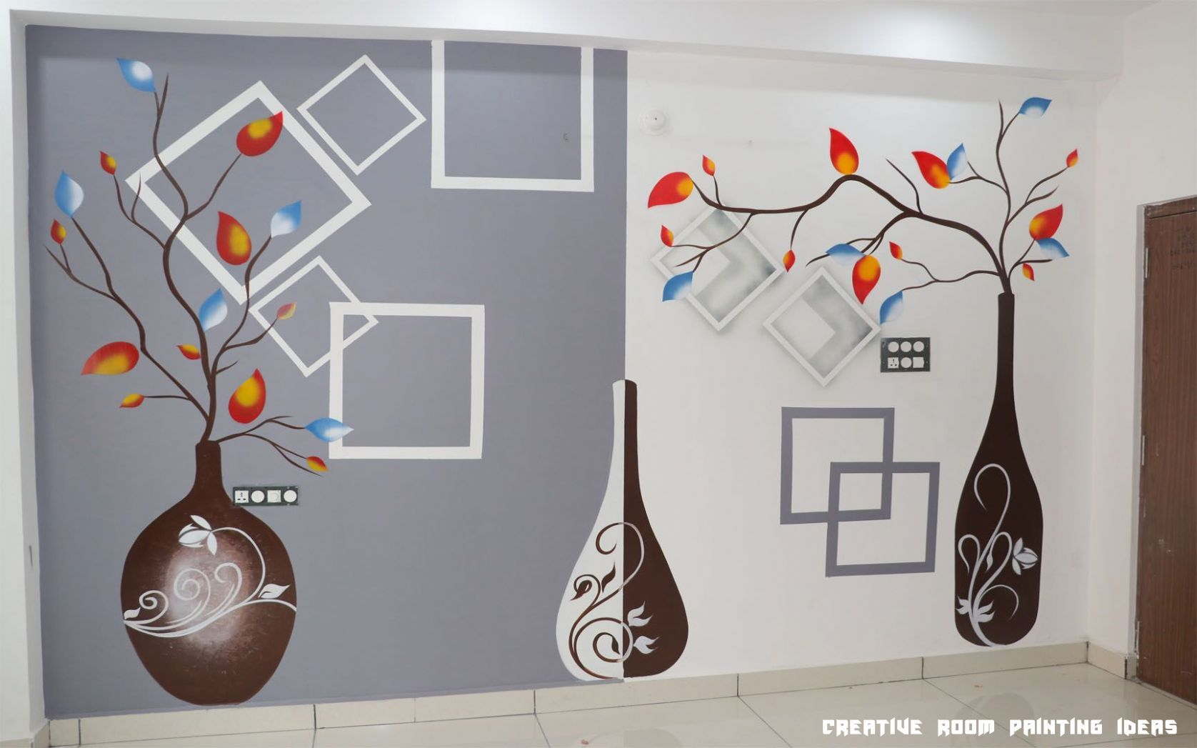 10 Creative Room Painting Ideas In 2020 Creative Wall Painting Wall Paint Designs Creative Walls
