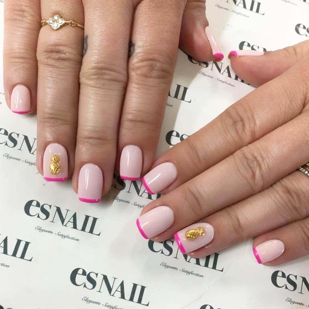 50 Ideas para pintar uñas de color rosa   Decoración de Uñas - Nail ...