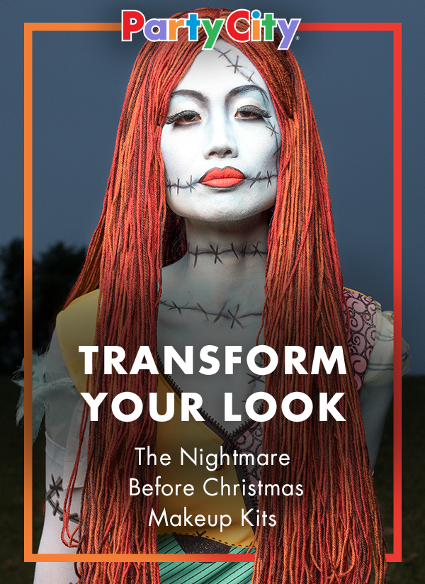 b524c7875b4 Party City Makeup Kits And Transform Into Sally From Nightmare Before  Christmas This