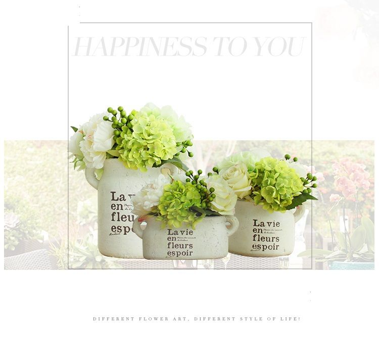 Lux Artificial Flowers In Vase For Sale Online Home Decoration