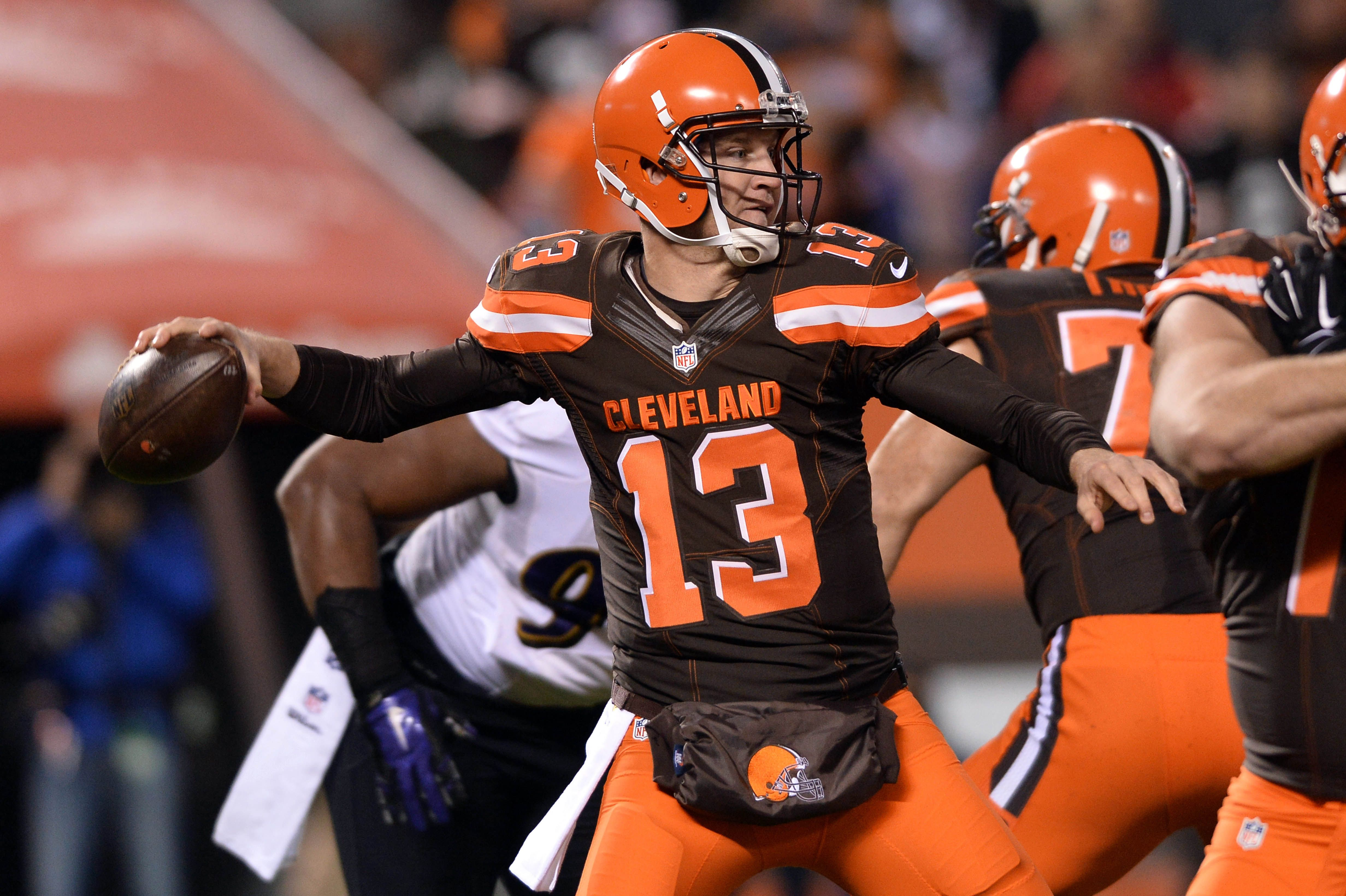josh mccown browns cleveland browns josh mccown expects to compete with rg3 .