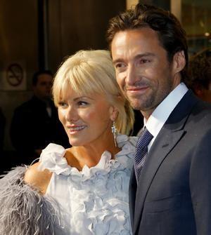 Hugh Jackman His Wife Ok Ok I Know But He S Still So Darn Handsome Hugh Jackman Wife Hugh Jackman Wolverine Hugh Jackman