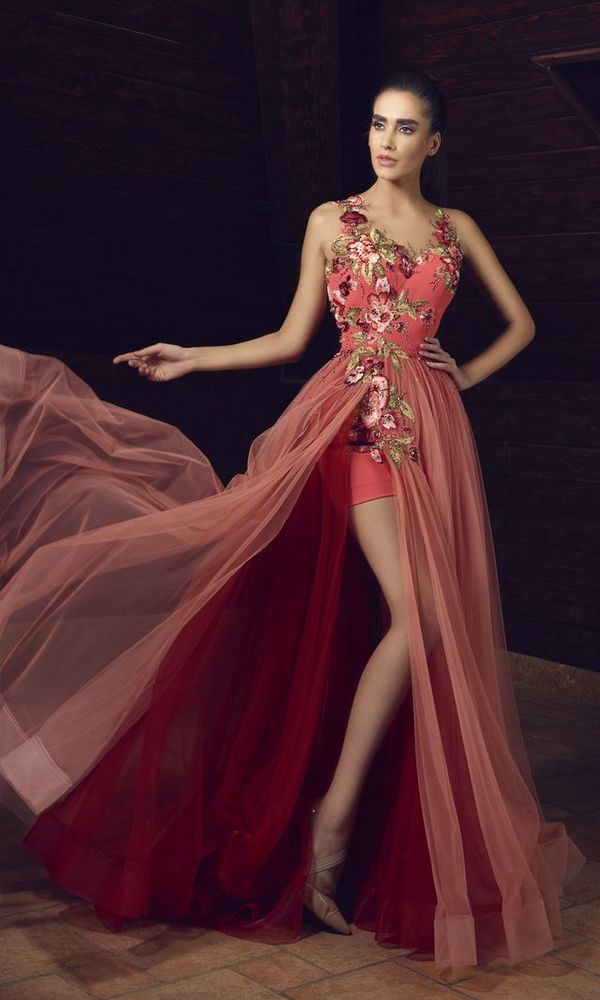 Tony Chaaya Haute Couture Evening Dresses 2017 En 2020 Vestidos De Fiesta Largos Galas Vestidos De Coctail Vestidos De Vx Anos